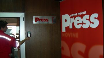 """Dnevne novine """"Press"""""""